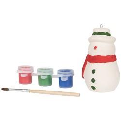 Paint A snowman