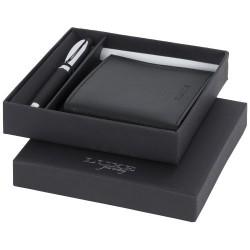 Baritone ballpoint pen and wallet gift set