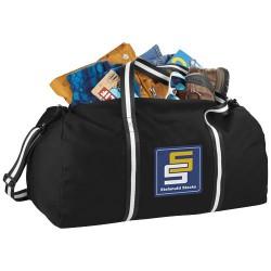 Weekender cotton travel duffel bag