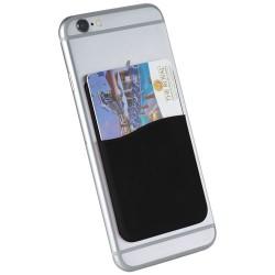 Slim card wallet accessory for smartphones