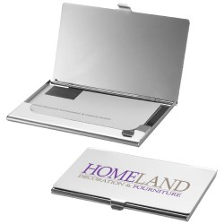 New York business card holder with mirror