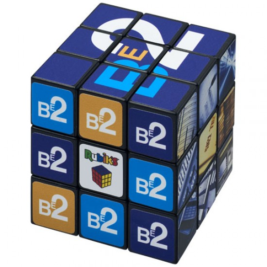 Rubik's Cube® with branding on all sides
