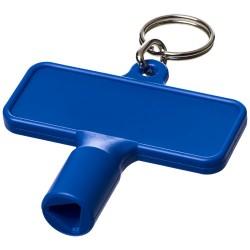 Maximilian rectangular utility key keychain
