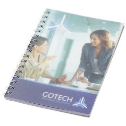 Desk-Mate® wire-o A6 notebook PP cover