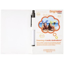 Essential conference pack A6 notepad and pen