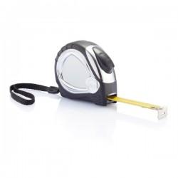 Chrome plated auto stop tape measure, black
