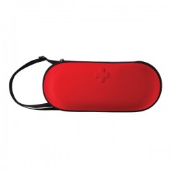 47 pcs first aid car kit, red