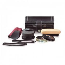 Essential shoe maintenance set, black
