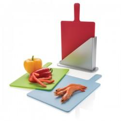 Cutting board set, silver