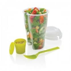 Salad2go cup, green