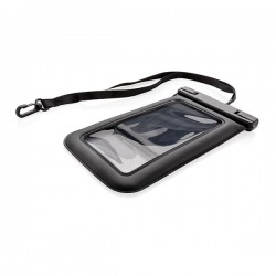 IPX8 Waterproof Floating Phone Pouch, black