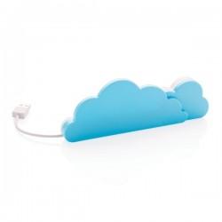 Cloud hub, blue
