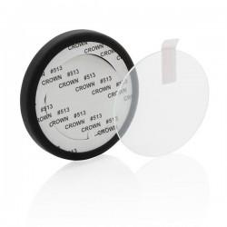 Tempered glass 5W wireless charging pad, black