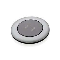 Aluminium 5W wireless charger, grey
