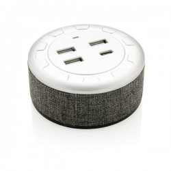 Vogue USB charger, grey