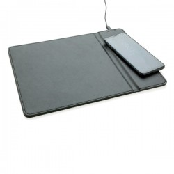 Mousepad with 5W wireless charging, black