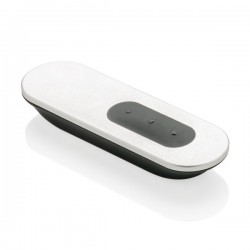 Flat laser pointer and presenter, grey