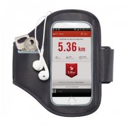 Universal phone sport armband, black