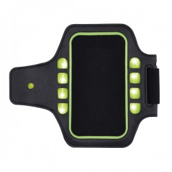 Running holder with LED light, black