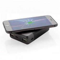 Ultimate 10.000 mAh Wireless Charging Powerbank, black