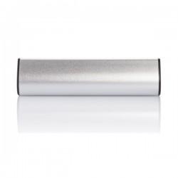 2.200 mAh solar powerbank, silver