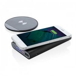 Wireless charging set, black