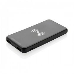 Ultra Thin 4.000 mAh Wireless 5W Charging Powerbank, black