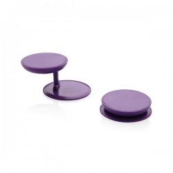 Stick 'n Hold phone stand, purple