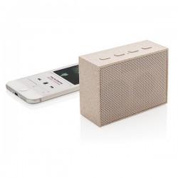 Wheat straw 3W mini speaker, brown