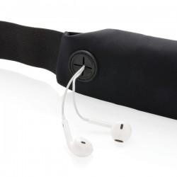 Running belt with LED, black