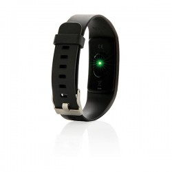 Stay Fit with heart rate monitor, black