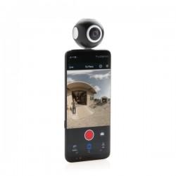 Dual lens 360 camera, black