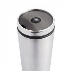 Leak proof tumbler, silver