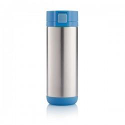 Lock travel mug, blue