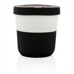 PLA cup coffee to go, black