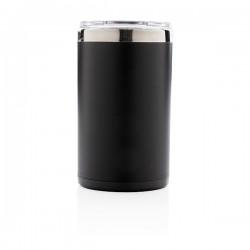 Light up logo coffee mug, black
