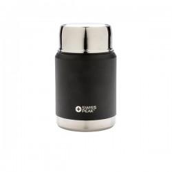 Swiss Peak Elite copper vacuum food container, black