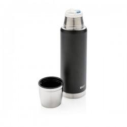 Swiss Peak Elite 0.5L copper vacuum flask, black