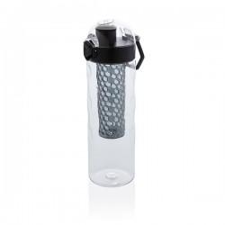 Honeycomb lockable leak proof infuser bottle, black