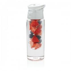 Lockable infuser bottle, white