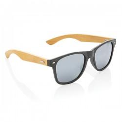 Wheat straw and bamboo sunglasses, black