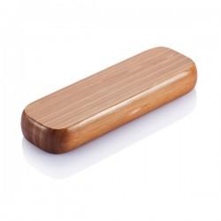 Bamboo pen in box, brown