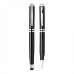 Executive pen set, black