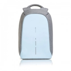 Bobby compact anti-theft backpack, light blue