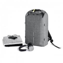 Urban anti-theft cut-proof backpack, grey