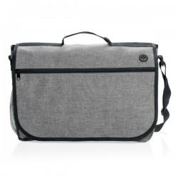 Fashion messenger bag, grey