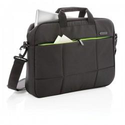 "Soho business RPET 15.6""laptop bag PVC free, black"