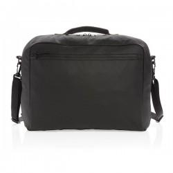 """Fashion black 15.6"""" laptop bag PVC free, black"""
