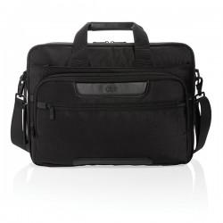 """Swiss Peak RPET Voyager RFID 15.6"""" laptop bag, black"""