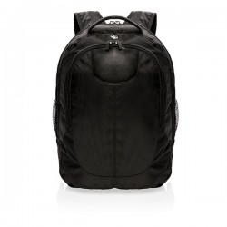 Outdoor laptop backpack, black